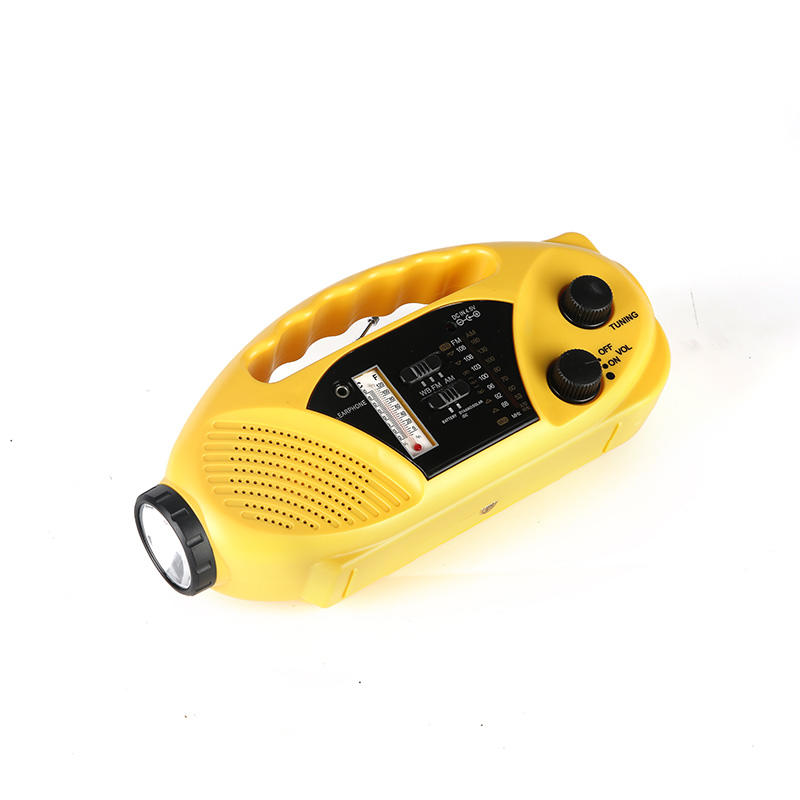 portable solar emergency radio crank from China for home-3