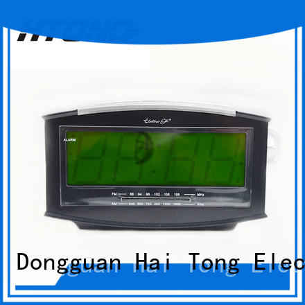 HTong reliable radio alarm clock series for apartment