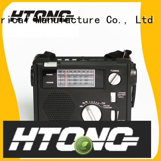 Hai Tong solar hand crank emergency radio online for indoor
