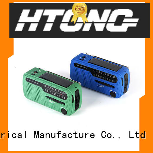 Hai Tong good quality solar emergency radio from China for hotel