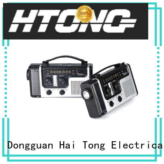 Hai Tong portable best emergency radio from China for house
