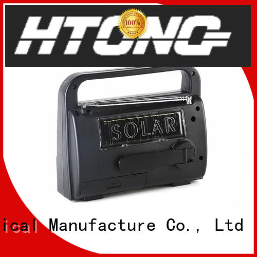 Hai Tong weather solar hand crank radio promotion for outdoor