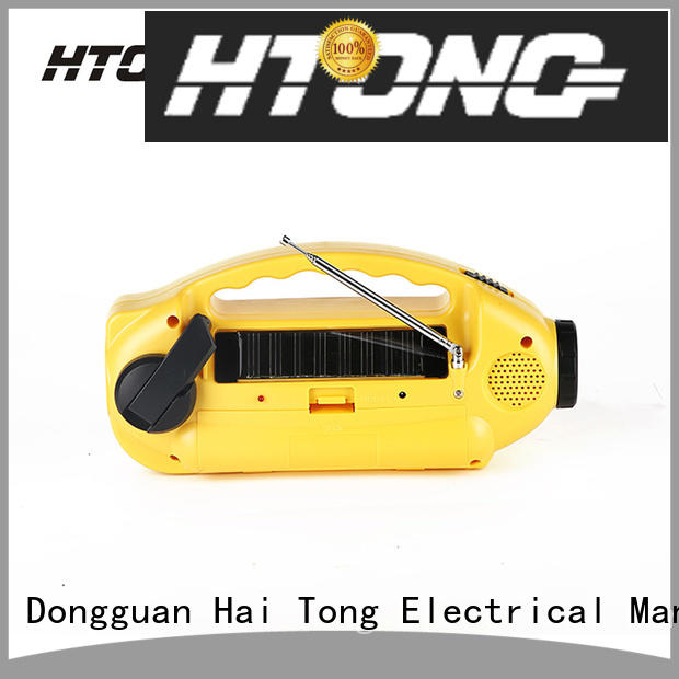 portable solar powered emergency radio lamp on sale for hotel