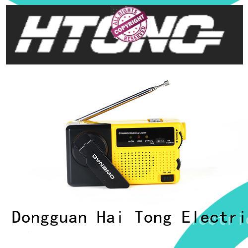 Hai Tong powered best crank radio design for indoor