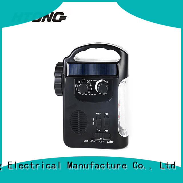 HTong hand dynamo radio from China for house
