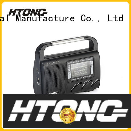 Hai Tong amfm solar powered emergency radio from China for house