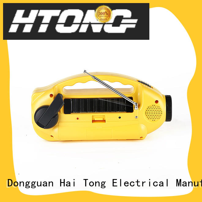 Hai Tong weather solar crank radio on sale for outdoor