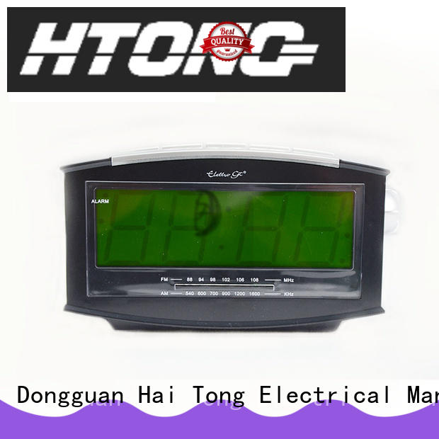 durable am fm clock radio function from China for home