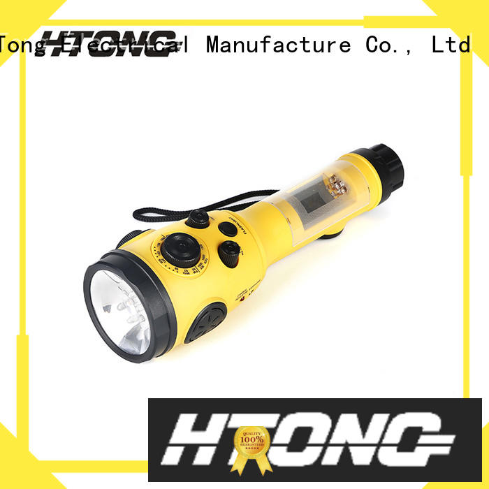Hai Tong ht3038 crank flashlight radio online for indoor