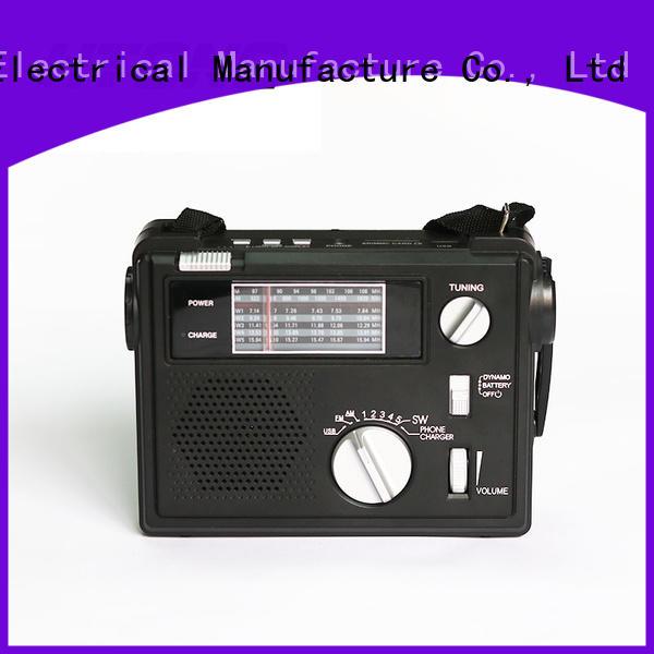 customized best crank radio rechargeable design for indoor