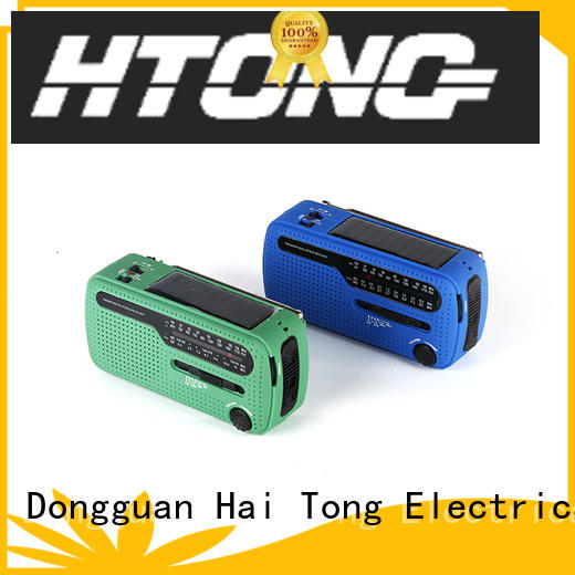 Hai Tong portable dynamo and solar radio easy to use for home