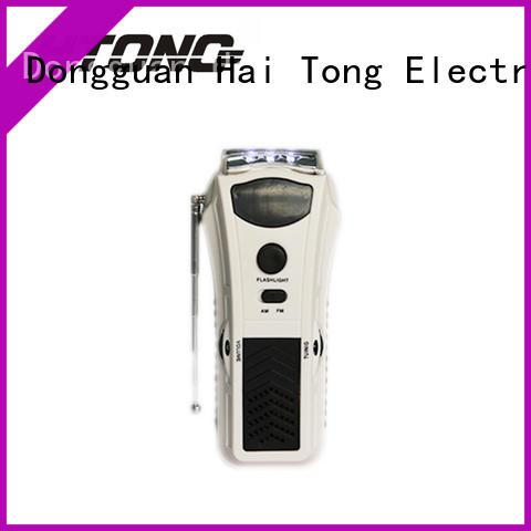 long lasting best crank radio fm player for indoor