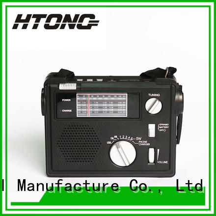 HTong radio emergency crank radio directly price for home