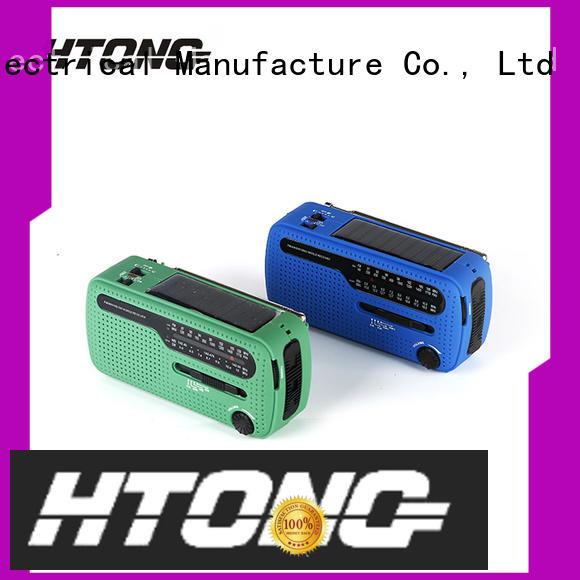 Hai Tong amfm solar powered digital radio easy to use for home