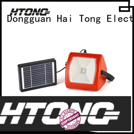 Hai Tong flood solar camping lights from China for hotel