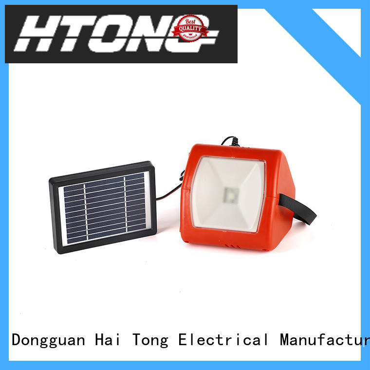 Hai Tong panel solar camping lights promotion for indoor
