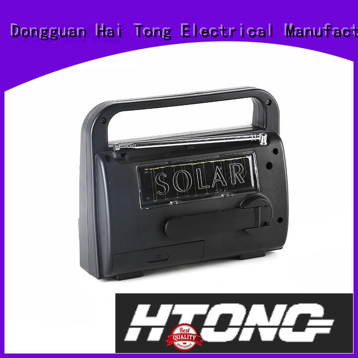 Hai Tong simple dynamo and solar radio factory price for home