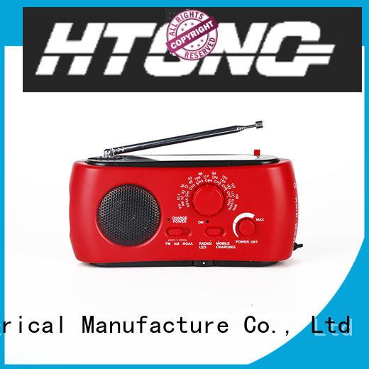 Hai Tong ht555 solar crank radio on sale for outdoor