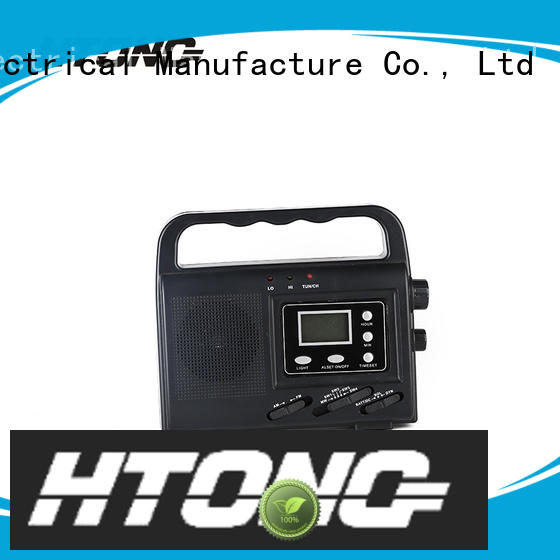 Hai Tong ht888 dynamo radio promotion for outdoor