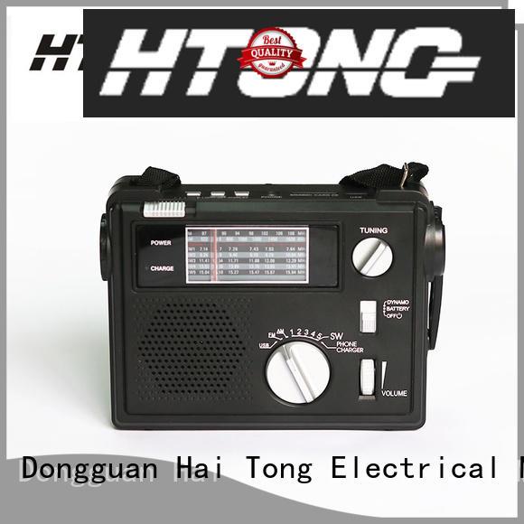 Hai Tong am emergency flashlight radio player for indoor