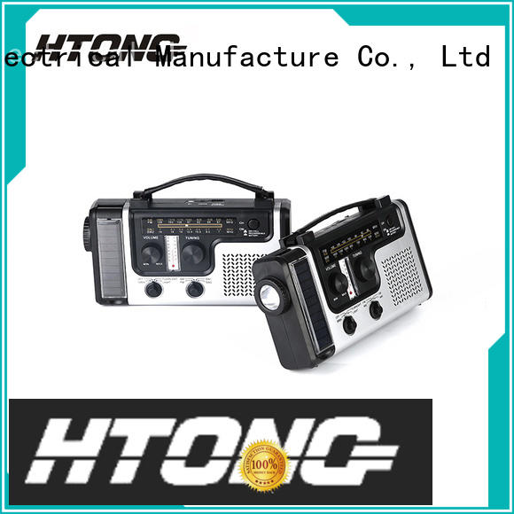 ht666 solar powered portable radio promotion for home Hai Tong
