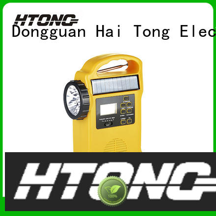 Hai Tong band solar power radio easy to use for outdoor