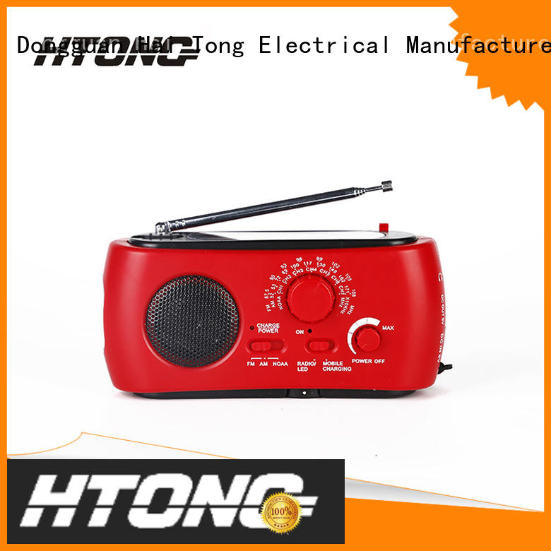 Hai Tong fm best emergency radio from China for hotel