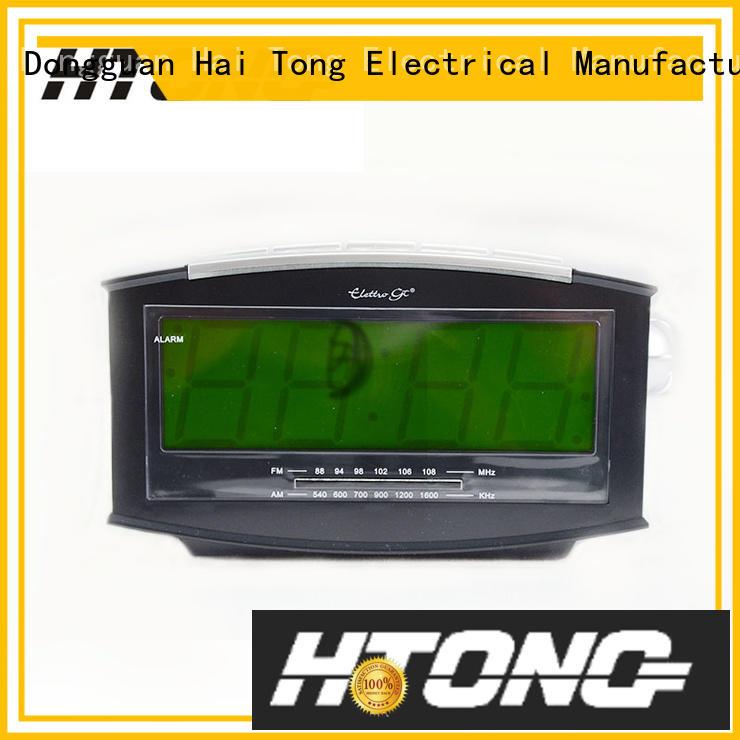 Hai Tong hot selling radio alarm clock customized for hotel