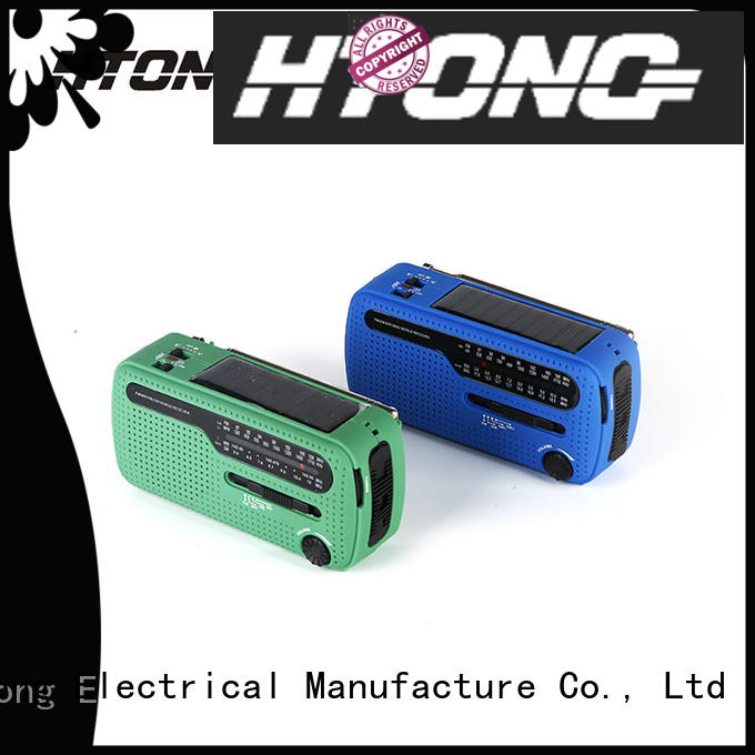 Hai Tong weather emergency radio from China for home