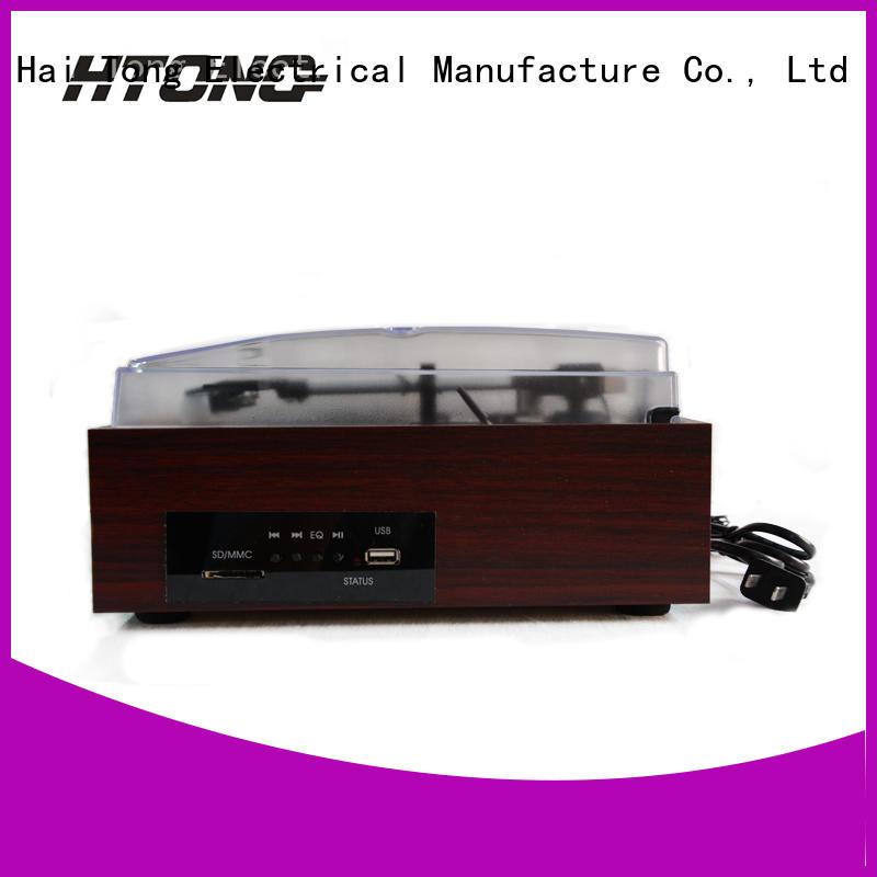 HTong wooden antique wooden gramophone manufacturer for indoor