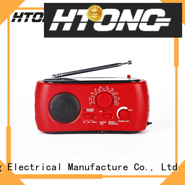 Hai Tong outdoor solar emergency radio on sale for home