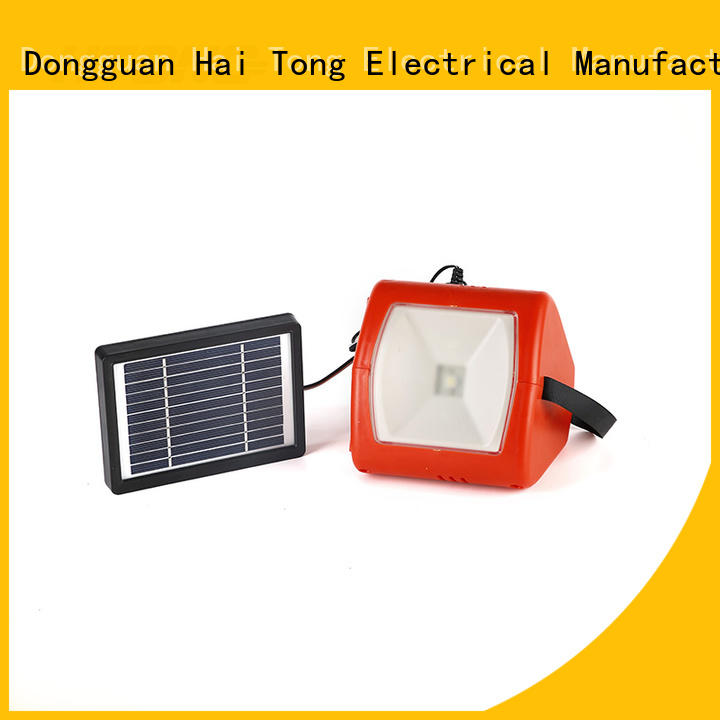 HTong stable multifunctional solar light from China for hotel