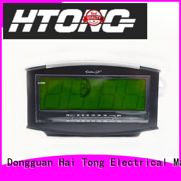 Hai Tong practical radio alarm clock from China for home