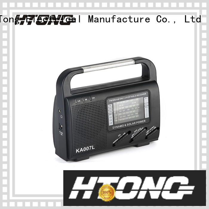 Hai Tong good quality solar power radio from China for house