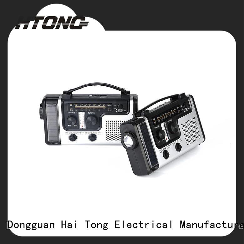 HTong good quality solar radio factory price for house