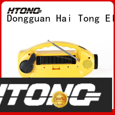 Hai Tong ht555 solar emergency radio promotion for house