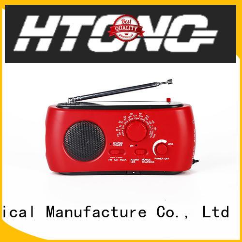 Hai Tong portable solar radio factory price for outdoor