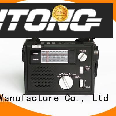 Hai Tong fm emergency crank radio online for hotel