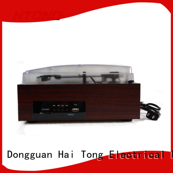 HTong sdcard antique gramophone supplier for hotel