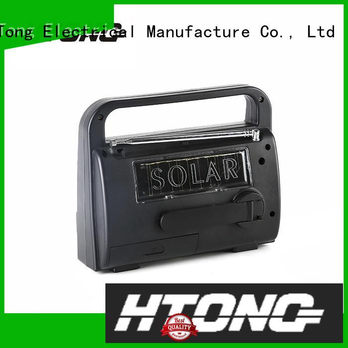 Hai Tong portable solar emergency radio promotion for house
