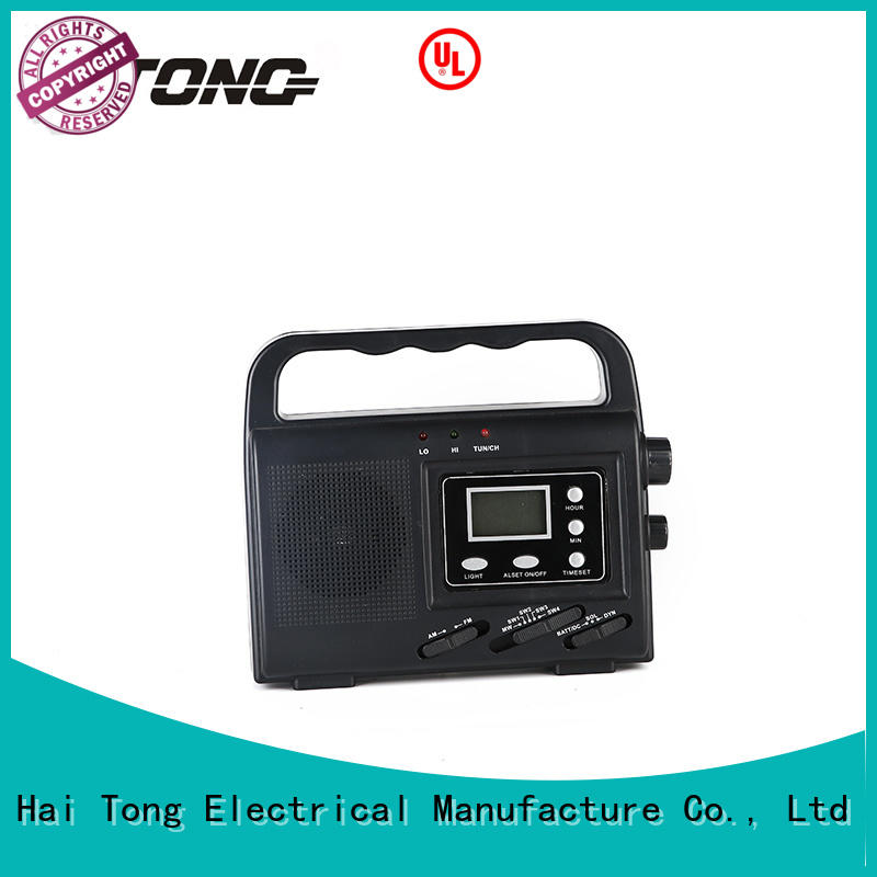 best solar emergency radio weather word emergency radios with cell phone charger rechargeable Hai Tong Brand