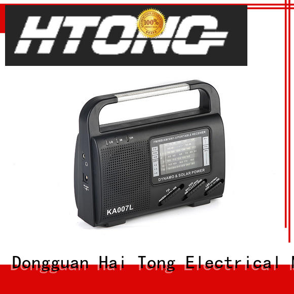 Hai Tong good quality solar radio promotion for house