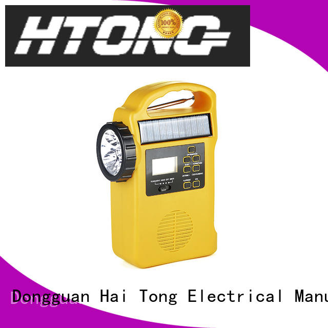 Hai Tong professional best emergency radio from China for hotel