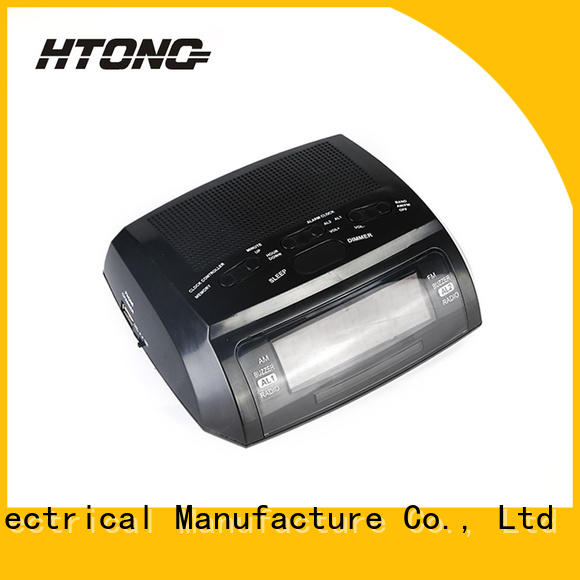 HTong durable clock radio manufacturer for family
