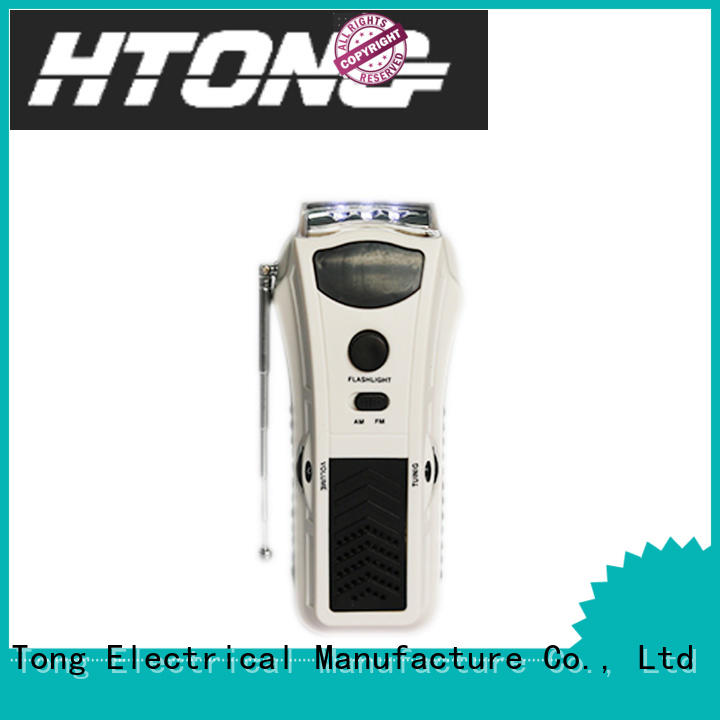customized best hand crank radio flashlight directly price for home