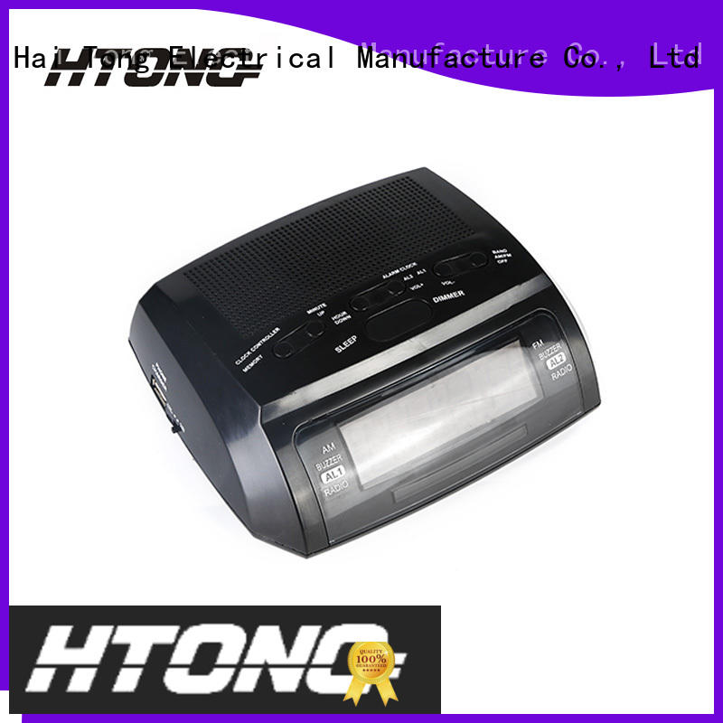 Hai Tong durable am fm alarm clock radio radio for home