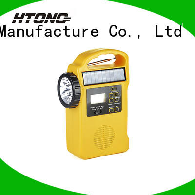 HTong ht888 solar emergency radio easy to use for house