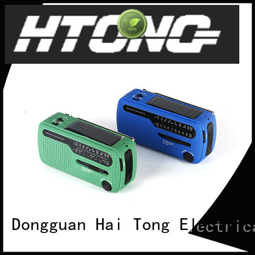 Hai Tong rechargeable solar radio on sale for home