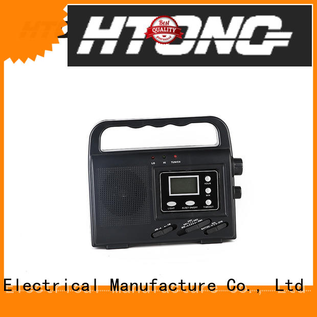 Hai Tong reicever solar radio from China for outdoor