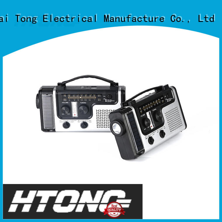 ht555 solar power radio ht998 for outdoor Hai Tong